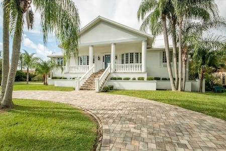 North Tampa Bay Beautiful Modern Home on Marina. - New Port Richey - Haus