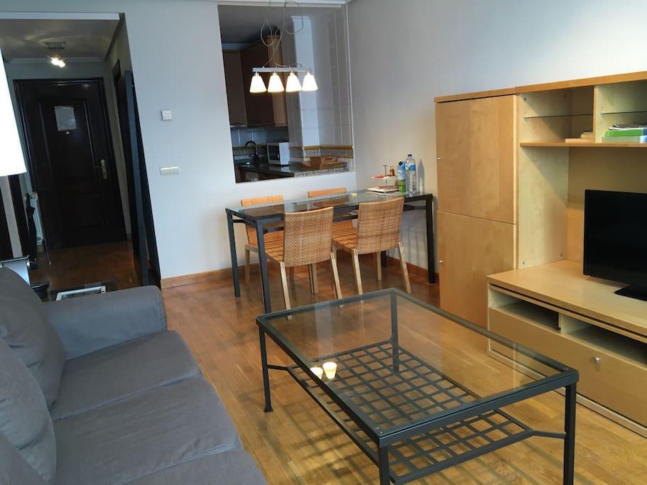 Apartamento 4 salón