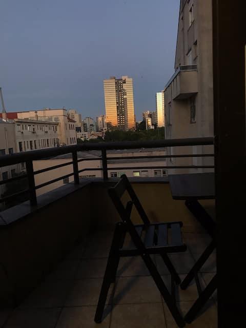 Apartamento/estúdio no centro de Caxias do Sul