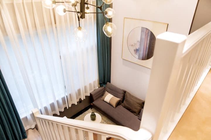 安吉越层LOFT美轮美奂单身公寓