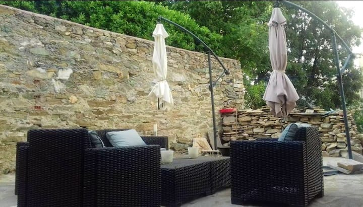 Apartment with 2 bedrooms in Bastia, with enclosed garden and WiFi