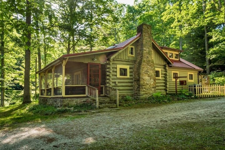 Sanctuary Log Cabin