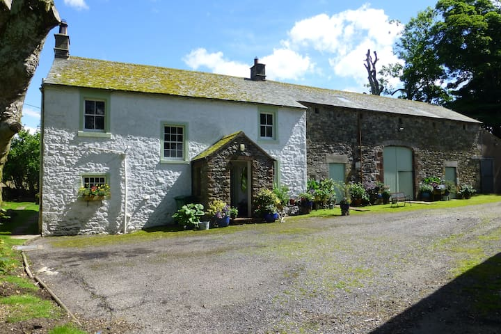 Askew Mire, a traditional Cumbrian farmhouse.