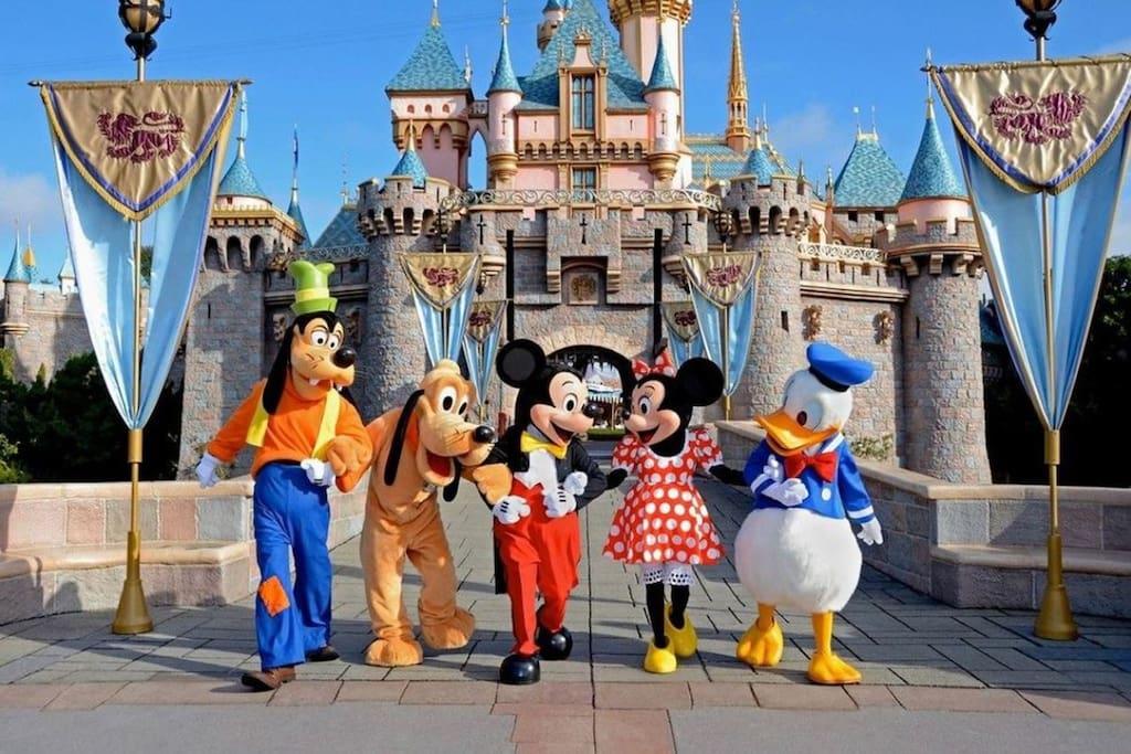Disneyland, 8.6 miles away
