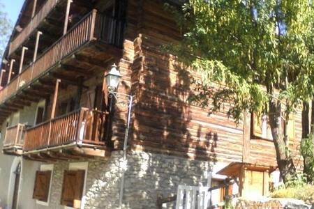 Baita d'epoca soleggiata nel cuore delle Alpi - Sauze di Cesana - Daire