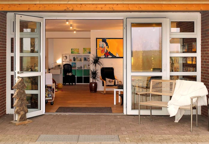 Ferien in Tossens Nr. 1 für 4 Pers. - Butjadingen - Apartment