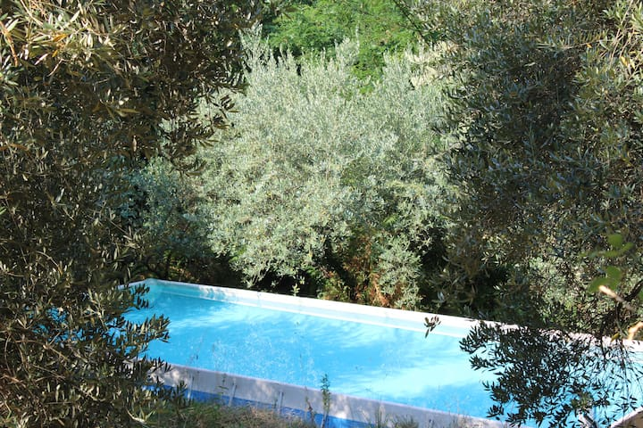 Tuscany, country house with swimmingpool - Pescia - บ้าน