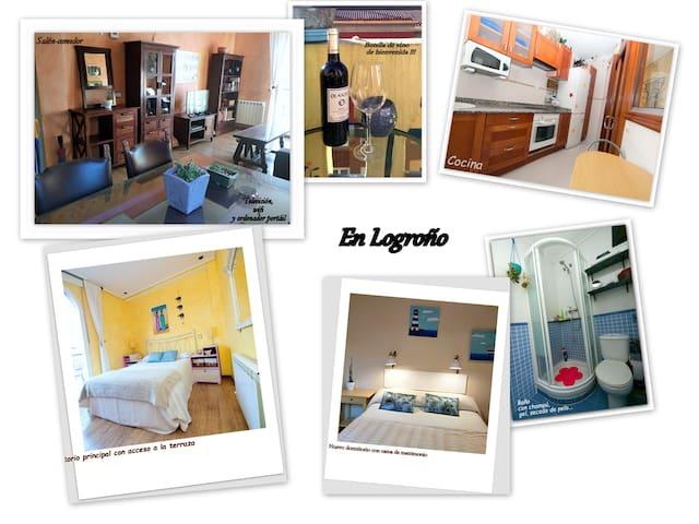 OFERTAS Ático con terraza en el corazón de Logroño