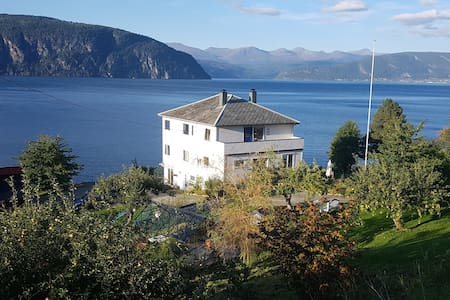 Much loved house by the fjord