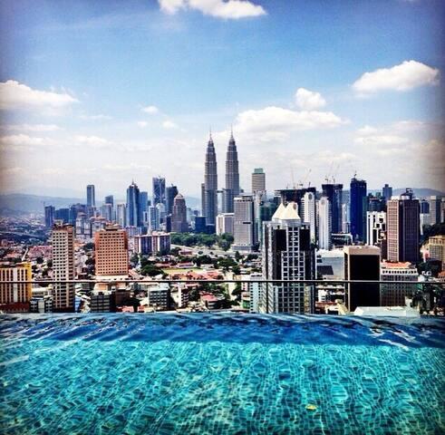Great view of Kuala Lumpur - Kuala Lumpur - Condominium