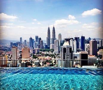 Great view of Kuala Lumpur - Kuala Lumpur - Kondominium