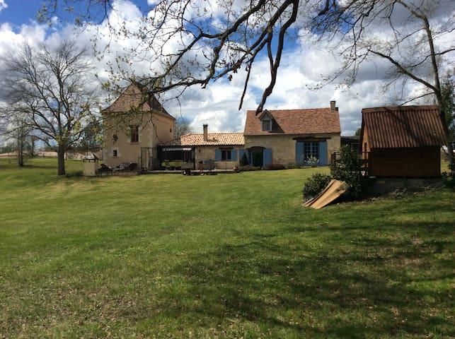 Charmante périgourdine en Dordogne - Lunas - Ház