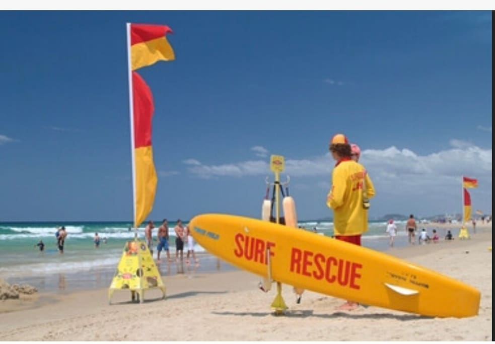 Patrolled surf beach and Surf Club with TAB, poker machines, bar and bistro across the road.