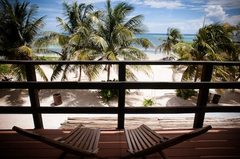 Beachfront Condo in Costa Maya (Mahahual, Mexico)
