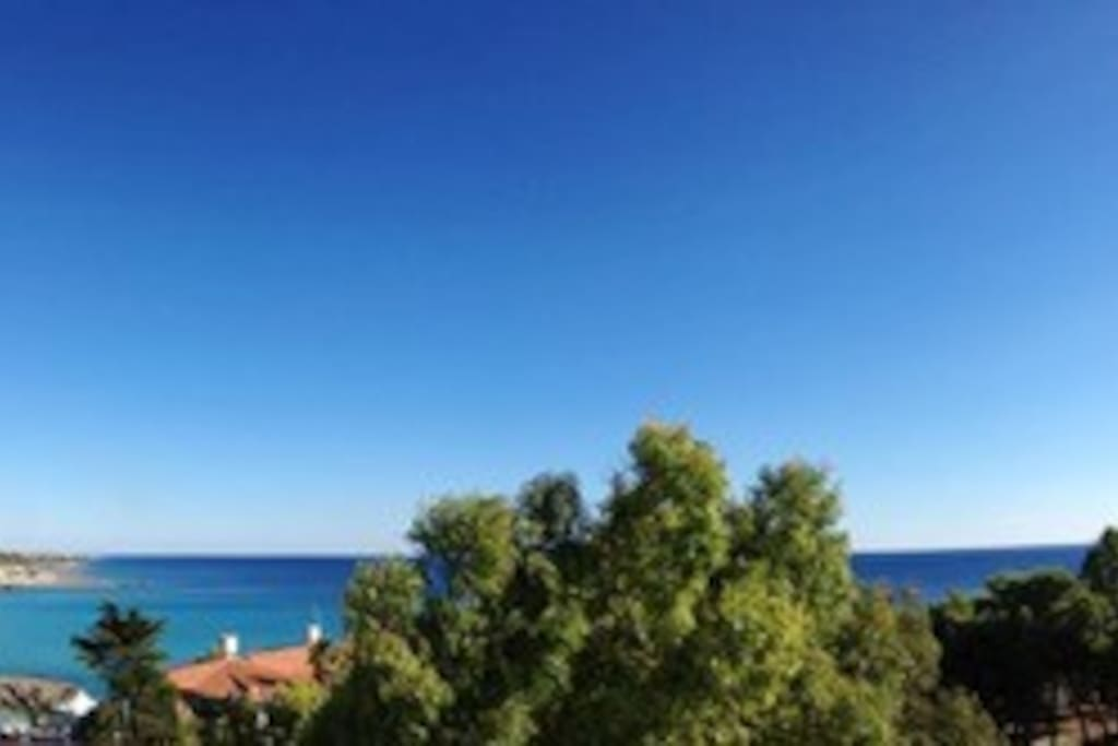 Panorama dalla Villa