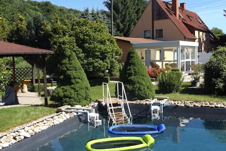 Cosy apartment with private terrace in Pirna in Saxon Switzerland