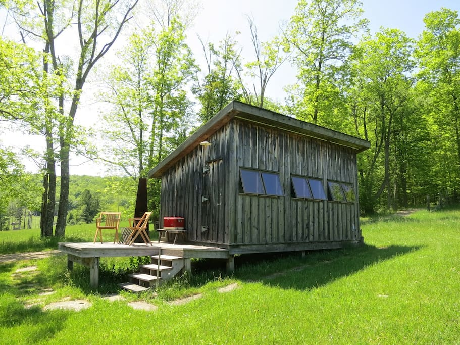 The william brown cabin chalet in affitto a hankins new for New york cabin