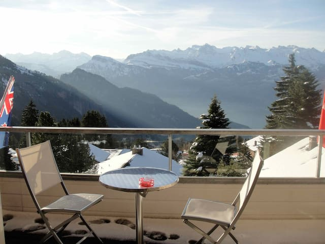 Spectacular Swiss Alp Apartment - Weggis