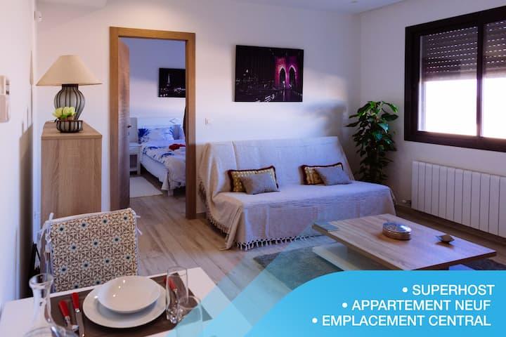Le pied-à-terre: Luxueux appartement à la Marsa