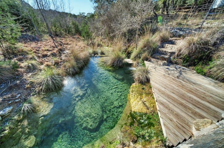 Hike to Monarch Hill Creek Just a Few Feet Away