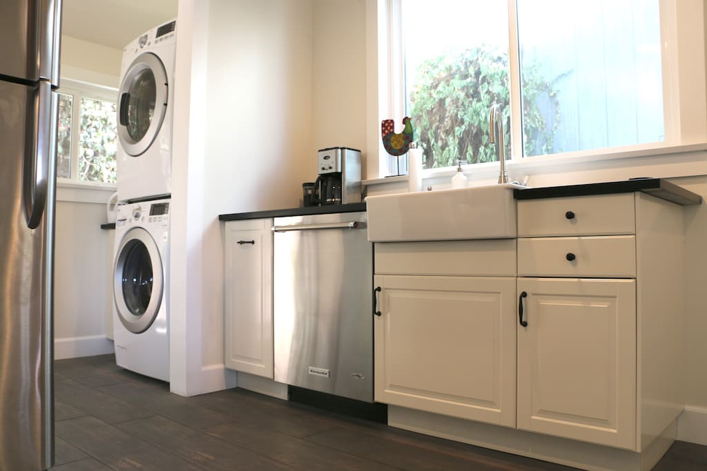 Washer/dryer, dishwasher