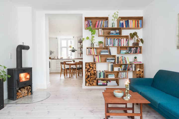 Cosy apartment in Jægersborggade
