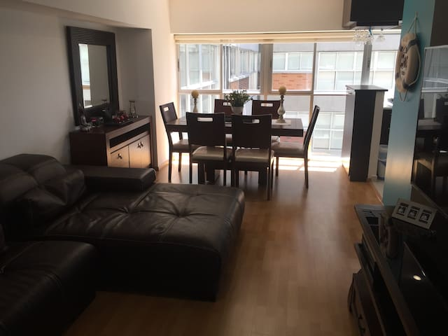 Cozy apartment 2BR close to Plaza Carso & Polanco.
