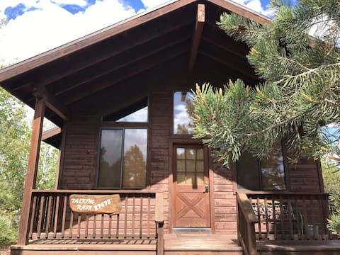 Talking Rain cabin with private hot tub