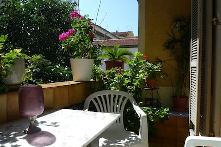 Quiet apartment, 2 terraces nr Port - Nizza