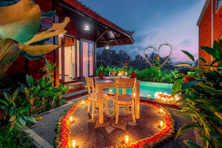 Private Pool Villa with Rice Field View-1 Bedroom