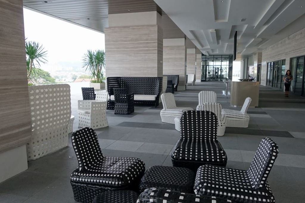 The Chillout area by the Pool