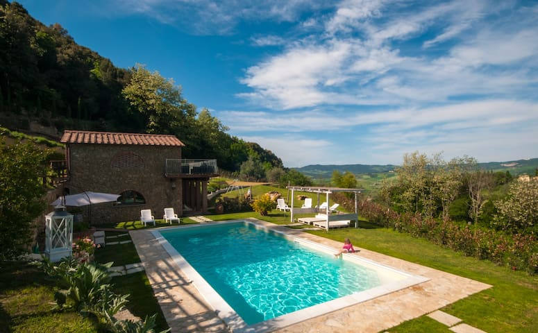 Tuscan Villa with Privacy,Pool,near towncentre