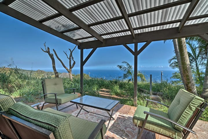 'View House' in Laupahoehoe w/Patio & Ocean Views!