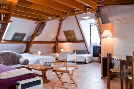 Vacation rental in loubressac - Loubressac - Hus