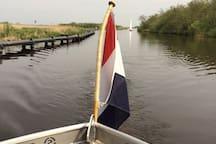 Vrijheid op het water