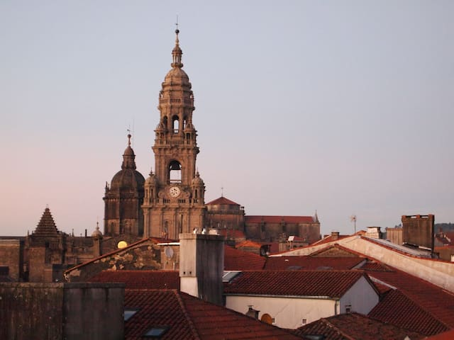 Large Apt by the Cathedral! up to 10 persons - Santiago de Compostela - Dom