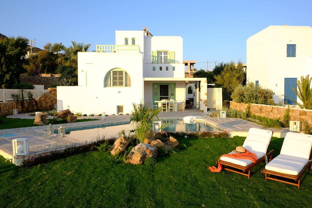 Exterior | Valea Naxos Villa | Private Sea View Villa in Naxos