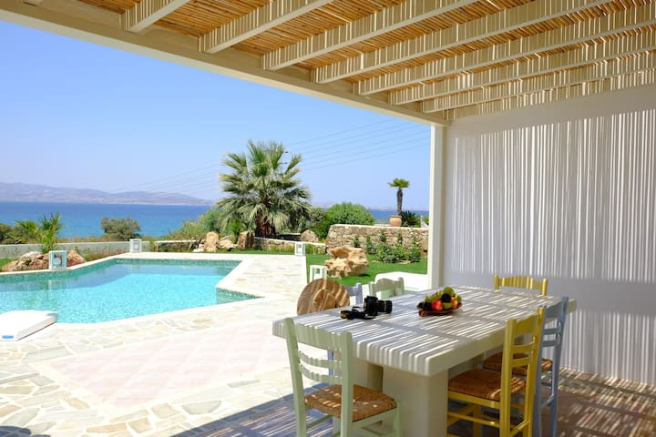 Valea 3 Bedroom Sea View Villa  - Naxos - Villa