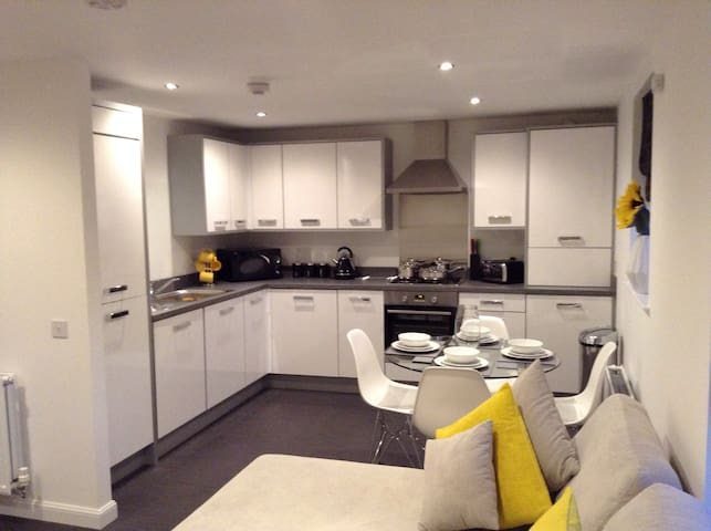 Deluxe brand new 2 bed apartment - Aberdeen - Apartment