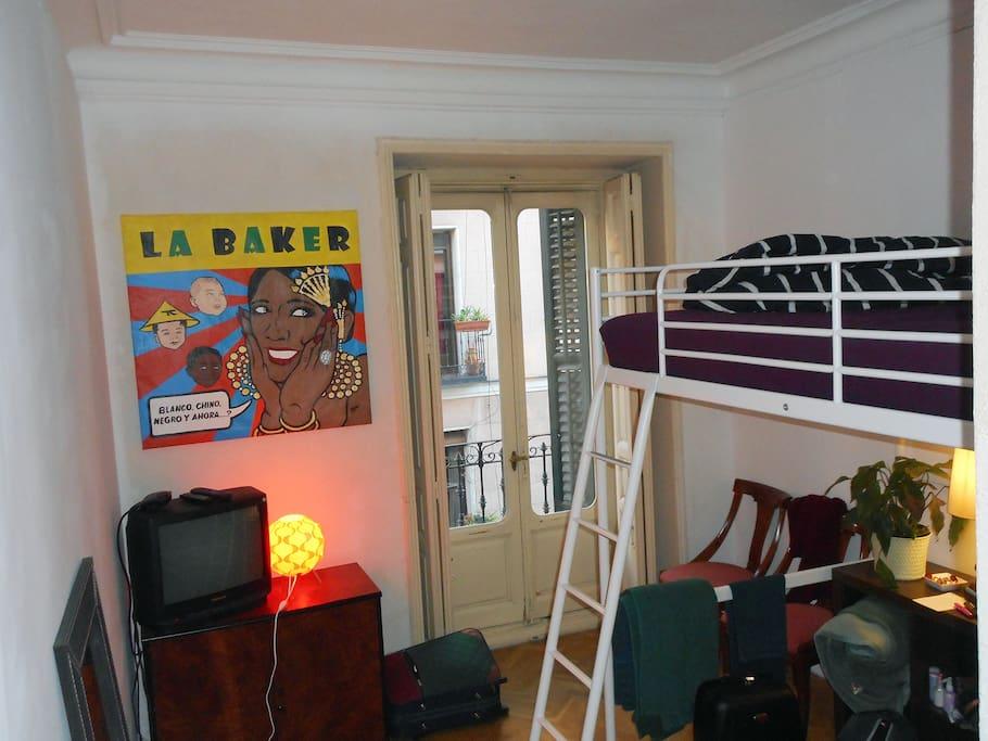 Habitacion con balcon