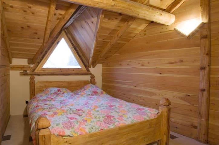 Chambre Double dans un gîte - Villar-Saint-Pancrace - Bed & Breakfast