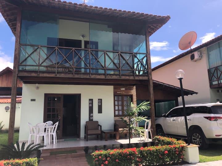 Casa duplex na Praia dos Carneiros