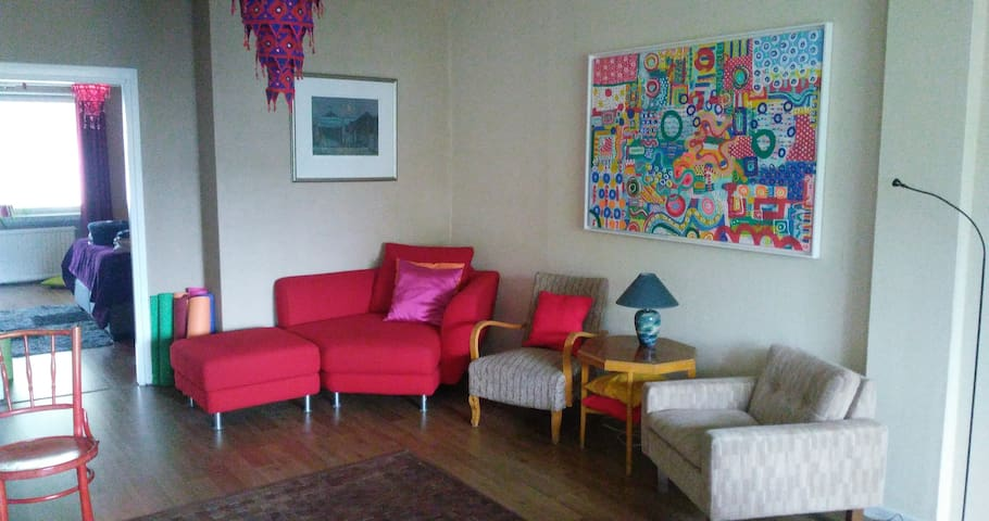 Colourful 70m2 apartment with the best location