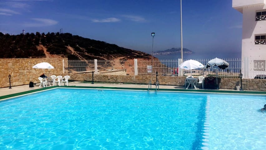 Résidence privée, piscine et vue sur la mer - M'diq - Wohnung