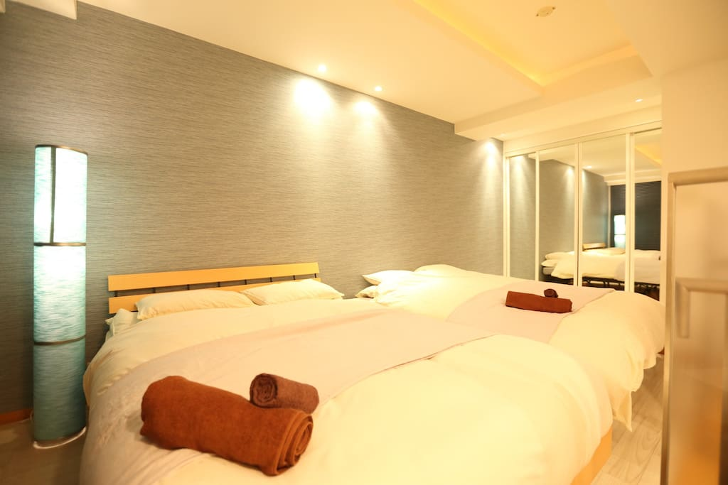 Double size bed & sofa bed level 2