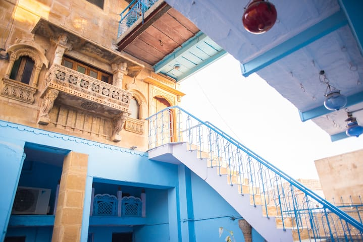 OLD HAVELI  JODHPUR, THE BLUE HOUSE - Jodhpur - Penzion (B&B)