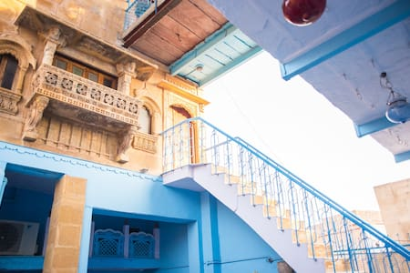 OLD HAVELI  JODHPUR, THE BLUE HOUSE - Jodhpur
