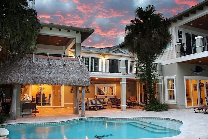 Private white sand beach Estate - Boynton Beach - Villa