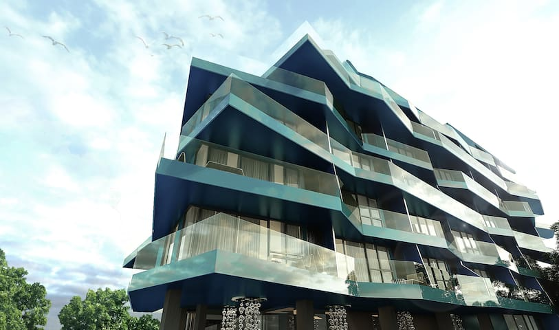 2BR condo with sea view (200m to beach) next night - Muang Pattaya - Flat
