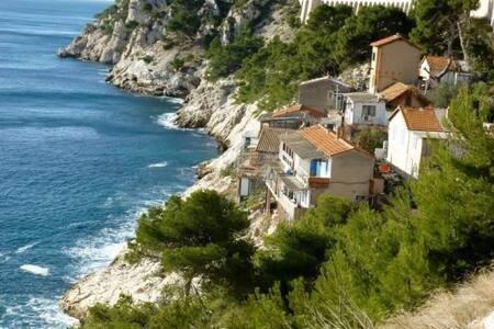 Chambre 1 Mer Colline site insolite 5mn Marseille - Le Rove - Andere